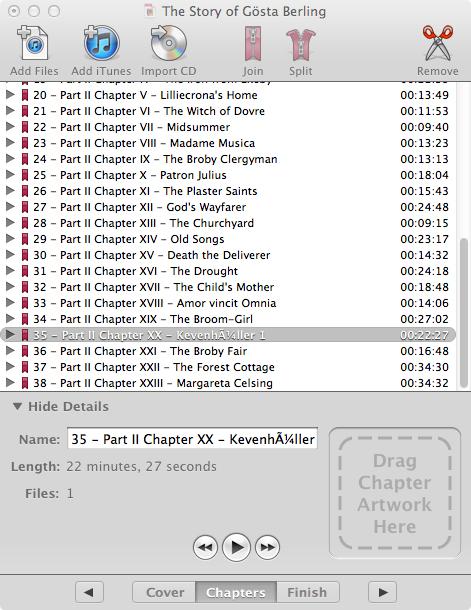How To Make M4B Files - Librivox wiki