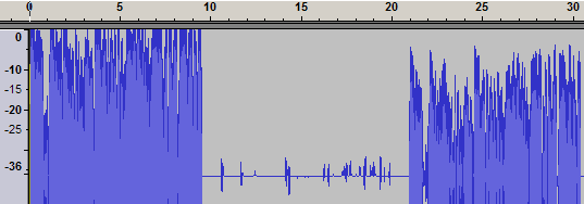 Audacity close up three recording levels.png